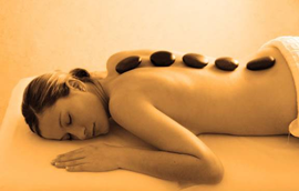 Hot stones enhancements at Blue Skies Massage of Longmont the finest massage in Boulder County